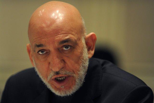 Hamid Karzaï, le chef de l'État afghan.... (Photo Findlay Kember, archives AP)