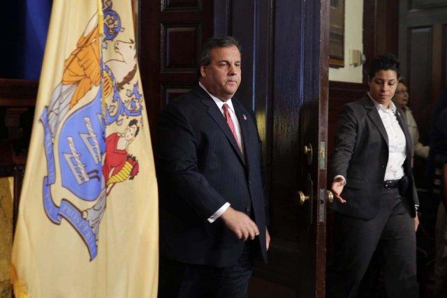 Le gouverneur du New Jersey Chris Christie a... (PHOTO MEL EVANS, AP)