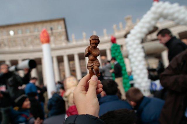 Un saint patron pour les victimes d'agressions sexuelles? C'est ce que souhaite... (PHOTO TONY GENTILE, REUTERS)