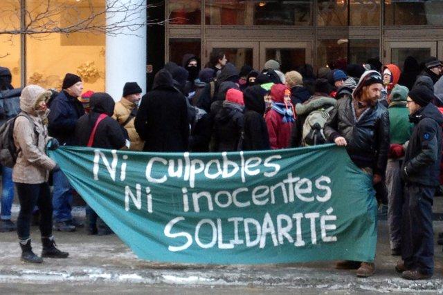 Les manifestants soutiennent que le système judiciaire mexicain... (Photo Andy Blatchford, La Presse Canadienne)