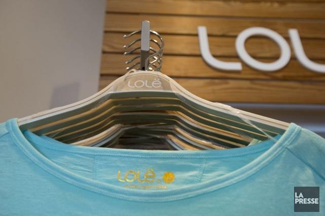 Lolë, créée en 2002 à Montréal par le... (PHOTO ALAIN ROBERGE, LA PRESSE)
