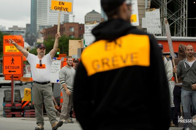 Une loi spéciale mettant fin à la grève... (PHOTO DAVID BOILY, ARCHIVES LA PRESSE)