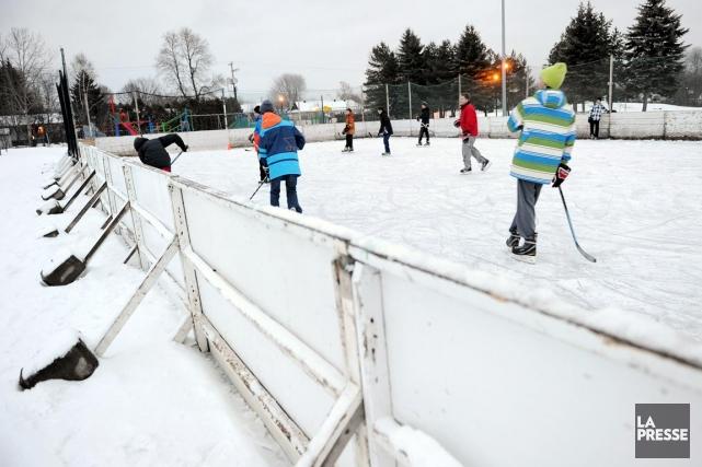 Les patinoires extérieures ne servent pas juste à... (Archives, LeSoleil)