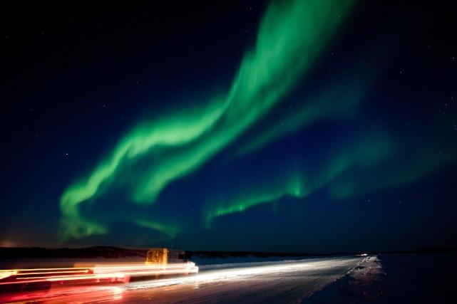 Les tempêtes solaires entrent en collision avec des... (Photo Bill Braden, La Presse Canadienne)
