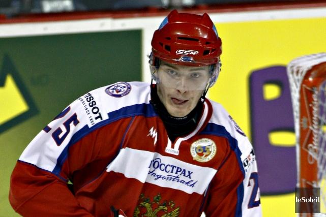 Mikhail Grigorenko a aidé la Russie à décrocher... (Photothèque Le Soleil)