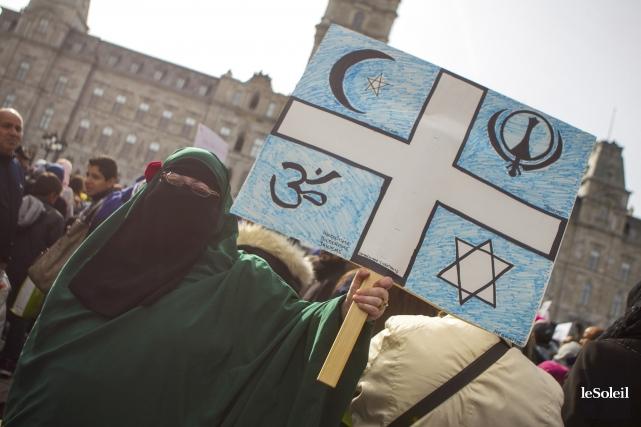 Plusieurs manifestations ont eu lieu pour dénoncer la... (Photothèque Le Soleil)