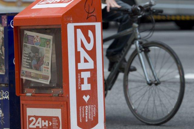 Au Canada, trois quotidiens gratuits (24 Hours à... (Photo Adrian Wyld, archives PC)