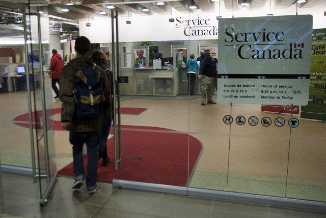 Le taux de chômage au Canada atteint maintenant... (Photo PC)