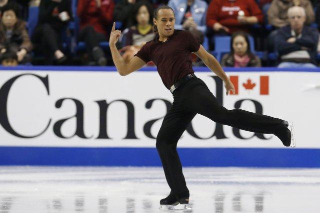 Elladj Baldé a terminé quatrième aux Championnats canadiens... (Photo Mark Bianchi, archives Reuters)
