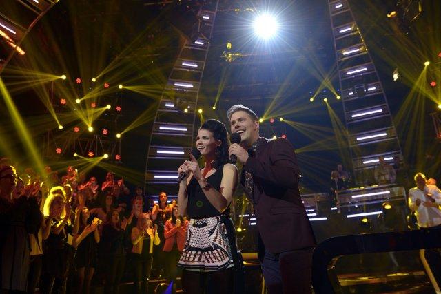 Marie-Ève Janvier et Jean-François Breau animent C'est ma... (Photo: fournie par ICI Radio-Canada Télé)