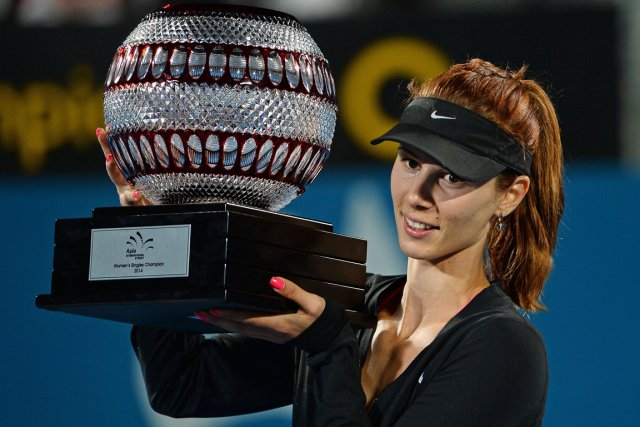 Tsvetana Pironkova... (Photo Greg Wood, AFP)