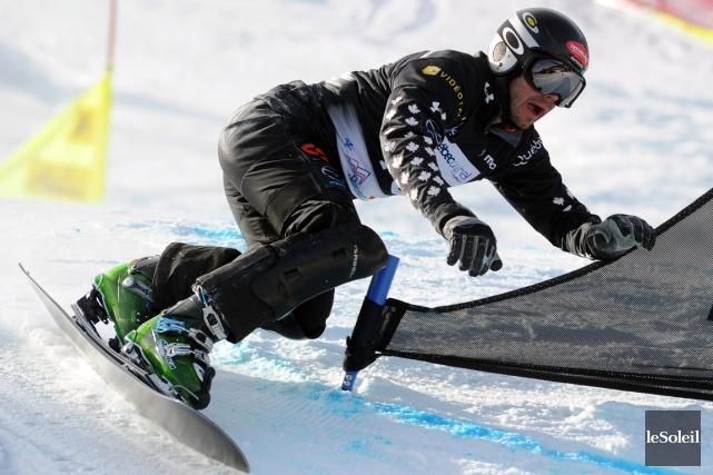 Le Québécois Jasey-Jay Anderson n'a pas réussi à... (Photo Erick Labbe, archives Le Soleil)