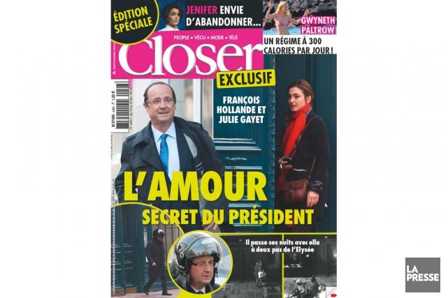 Le magazine people Closer avait révélé le 10... (PHOTO ARCHIVES LA PRESSE)