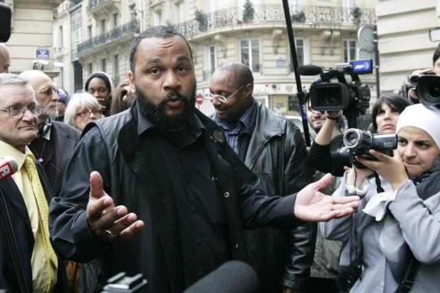 Dieudonné... (Photo: archives AP)
