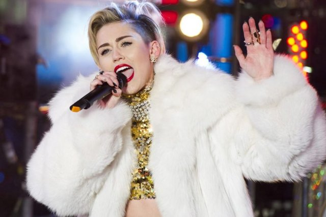 Miley Cyrus... (Photo: AP)