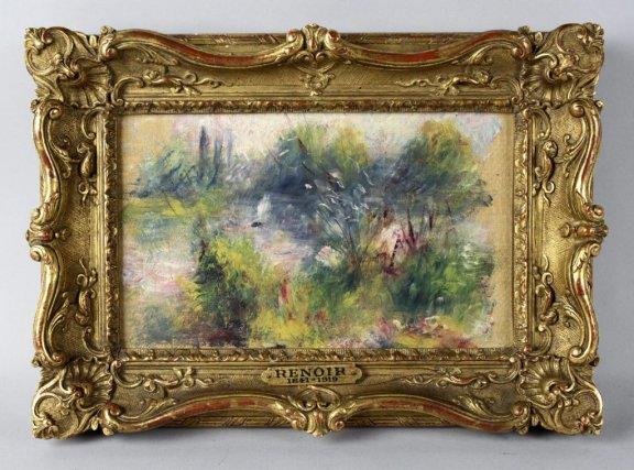 Paysage Bords de Seine de Pierre-Auguste Renoir... (Photo: archives AP)