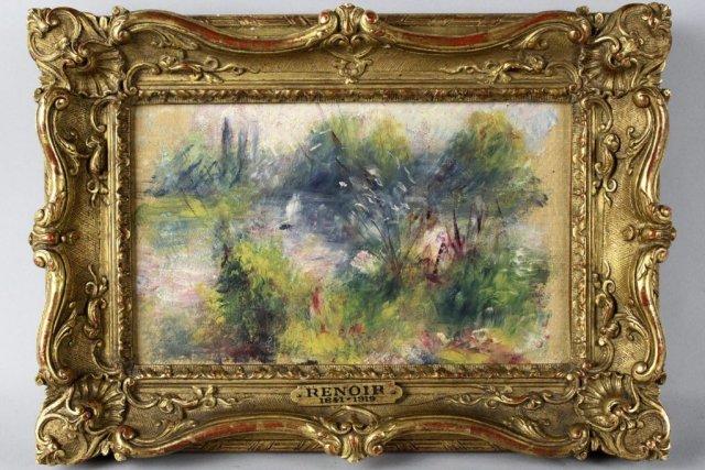 La toile de Pierre-Auguste Renoir payée 7 $US... (Photo: AP)