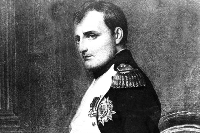Représentation de Napoléon peinte par Paul Delaroche.... (Photo: archives AP)