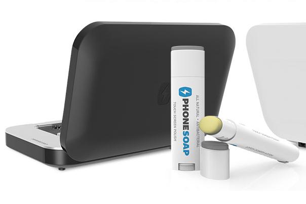 La boîte de stérilisation de Phonesoap utilise les... (Photo Phonesoap)