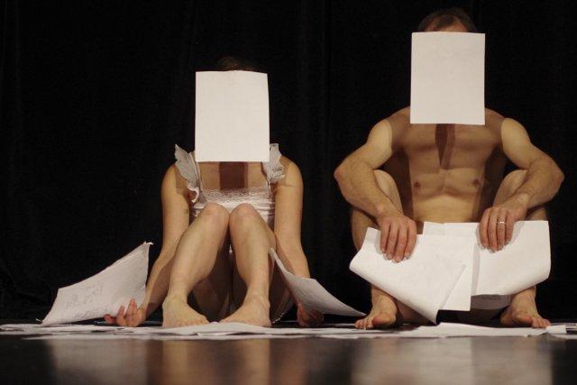 Dans Projet Migration, Christine Germain et Slater Penney... (Photo: fournie par Bouge d'ici)