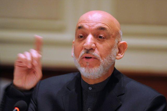 Le président afghan Hamid Karzaï.... (Photo Findlay Kember, archives Reuters)