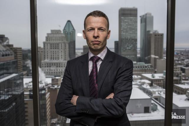 BenoitBrillonest chef des placements chez Gestion de portefeuille... (PHOTO OLIVIER PONTBRIAND, ARCHIVES LA PRESSE)