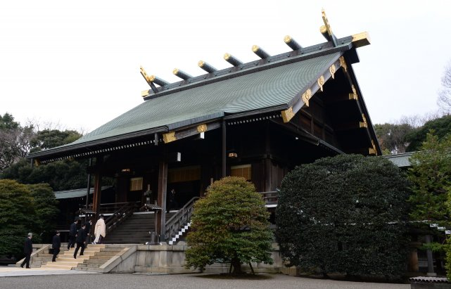 Le sanctuaire Yasukuni a été construit au XIXe... (Photo Yuya Shino, archives Reuters)