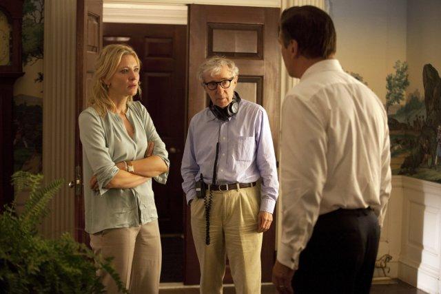 Woody Allen, lors du tournage de Blue Jasmine.... (Photo AP)