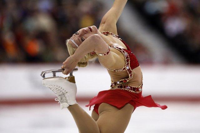 Amélie Lacoste n'a été devancée que par la... (Photo Chris Wattie, Reuters)
