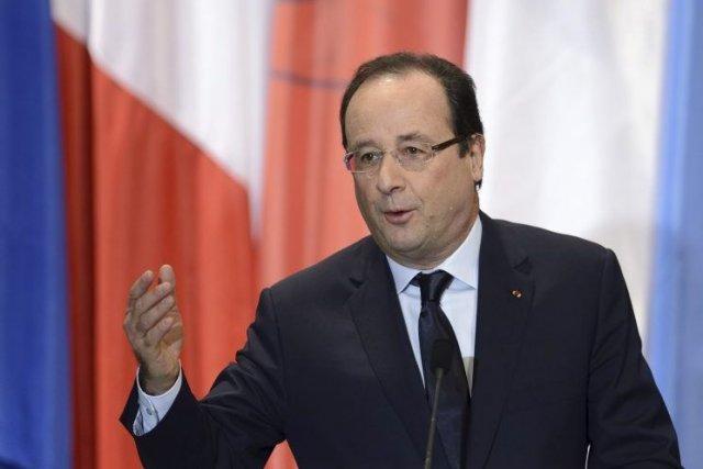 Le président français, François Hollande.... (PHOTO ERIC FEFERBERG, AFP)