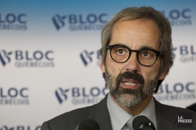 Daniel Paillé, qui a été élu chef six... (PHOTO HUGO-SÉBASTIEN AUBERT, LA PRESSE)
