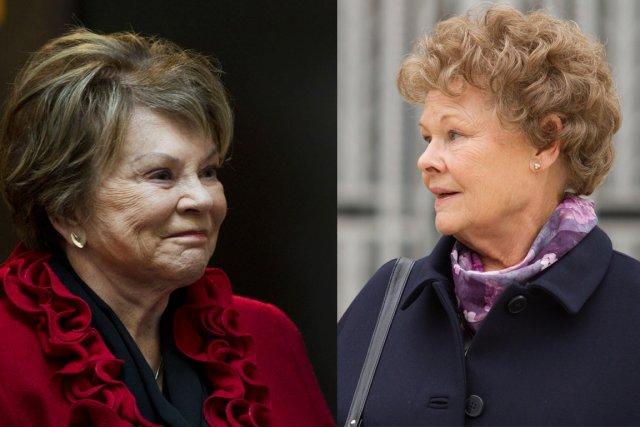 Janette Bertrand et Judi Dench...