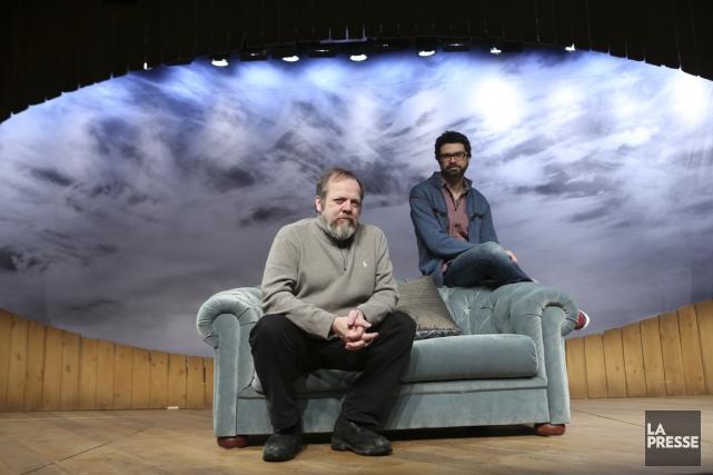 Dans la pièce mise en scène par François... (PHOTO MARTIN CHAMBERLAND, LA PRESSE)