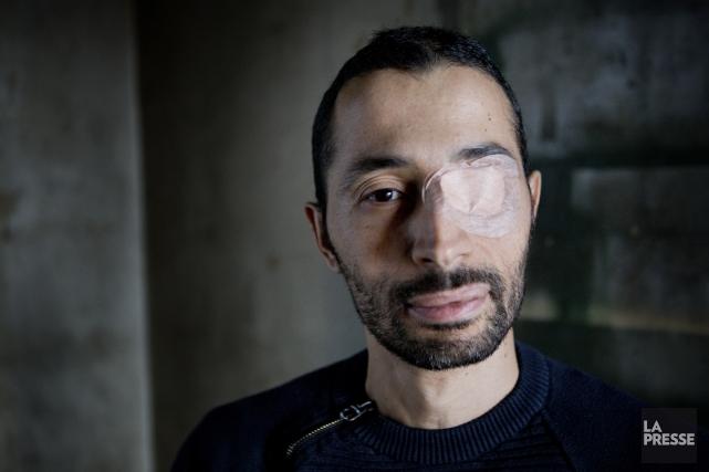 Karim Jallal... (PHOTO MARCO CAMPANOZZI, LA PRESSE)