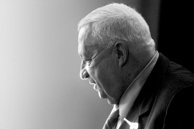 2014 - Décès de l'ancien premier ministre d'Israël Ariel Sharon, à l'âge de 85... (Photo AP)