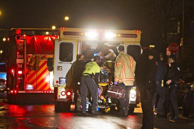 La victime avait été hospitalisée dans un état... (PHOTO FÉLIX O.J. FOURNIER, COLLABORATION SPÉCIALE)