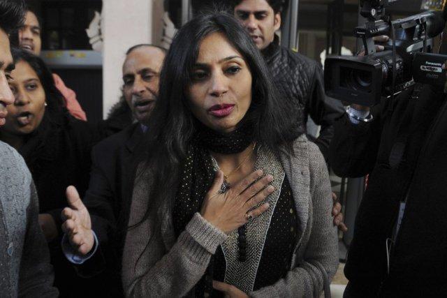 Devyani Khobragade est accusée par les autorités américaines... (PHOTO AGENCE FRANCE PRESSE)