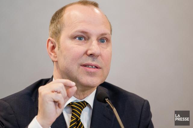 Le président de la Chambre de commerce du... (Photo Édouard Plante-Fréchette, La Presse)