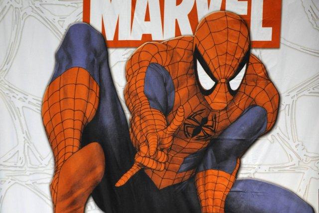 Le premier numéro d'Amazing Spider-Man, dessiné par Huberto... (Emmanuel Dunand, archives AFP)