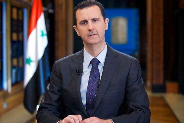 Le président syrien Bachar al-Assad.... (PHOTO ARCHIVES AFP/SANA)