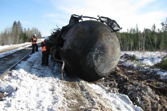 Le Bureau de la sécurité des transports du Canada (BST) a indiqué qu'il avait... (Photo REUTERS)
