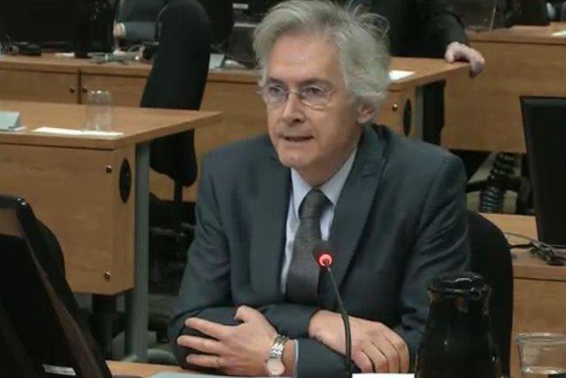 Guy Gionet, l'ex-président de la SOLIM.... (IMAGE TIRÉE D'UNE VIDÉO)