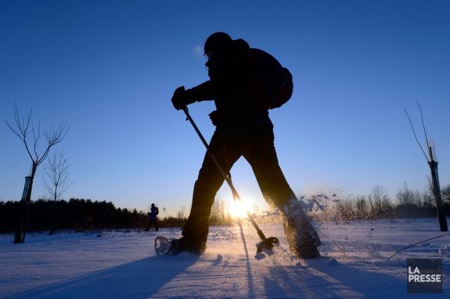 Le parc national des Îles-de-Boucherville organise quatre soirées de randonnée... (Photo Bernard Brault, La Presse)