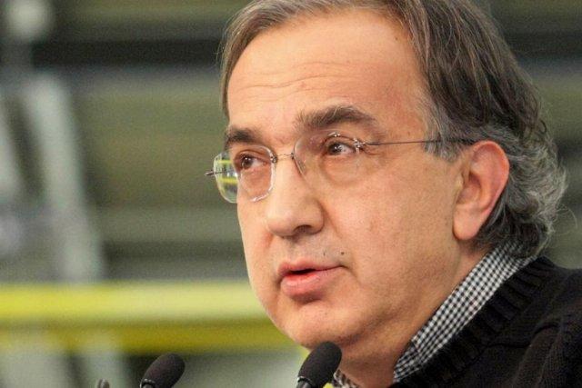 Sergio Marchionne, le pdg du Groupe Chrysler-Fiat.... (Photo archives AFP)