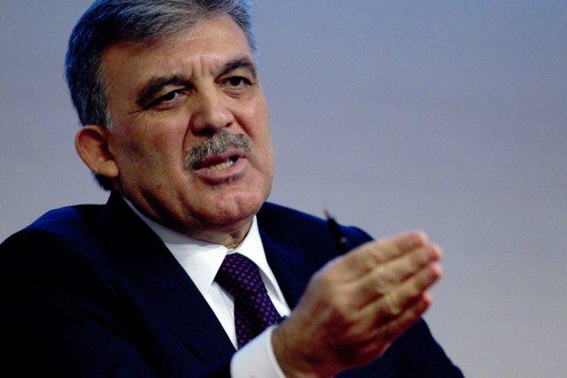 Le président turc Abdullah Gül.... (PHOTO OLIVIA HARRIS, REUTERS)