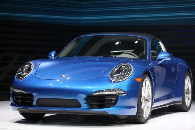 La nouvelle Porsche 911 Targa.... (Photo Geoff Robins, AFP)