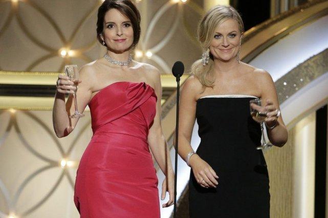 Tina Fey et Amy Poehler... (Photo Paul Drinkwater, Associated Press)