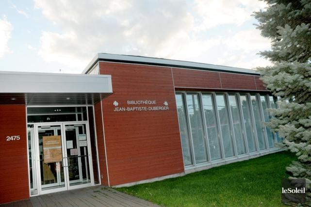 La bibliothèque Jean-Baptiste-Duberger... (Photothèque Le Soleil)