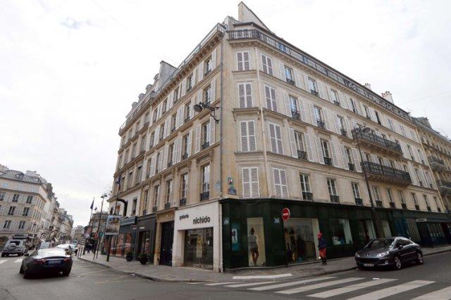 C'est dans cet édifice de la rue du... (Photo: AFP)