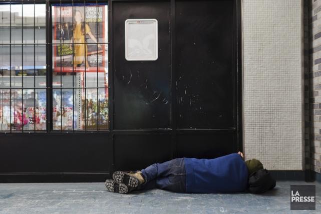 Un projet visait à offrir aux sans-abri des... (Photo: Édouard Plante-Fréchette, La Presse)